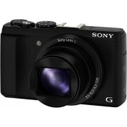 Aparat Foto Sony Cyber-Shot HX60V (Negru), Full HD, 20.4MP, Zoom Optic 30x, Wi-Fi, GPS