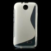 S-line силиконов гръб за HTC Desire 310 - прозрачен