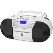 DAB+ CD radio Dual DAB-P 200 DAB+, UKV, USB, AUX, CD, kasete, bijele boje