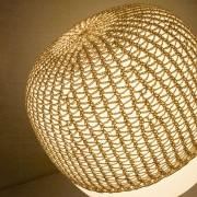 Net for table lamp Afra, beige
