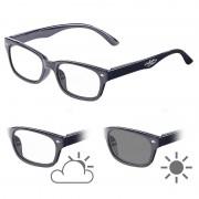 infactory Selbsttönende Brille mit UV-Schutz 400, 0 Dioptrien