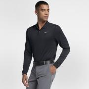 Polo de golf coupe standardà manches longues Nike Dri-FIT Victory pour Homme - Noir