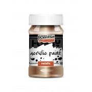 Pentart Metál antikarany színű akril bázisú hobbi festék 100 ml