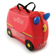 Trunki - Детски куфар 3 в 1 Ride-on DELUXE Fire Engine Limited