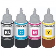 Prodot Refill ink for HP 803 combo pack Multi Color Ink Cartridge (Magenta Yellow Cyan Black)