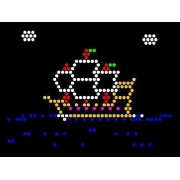 Classic 9x12 Lite Brite Refill: Things That Go (RECTANGLE) - NOT for New Magic Screen