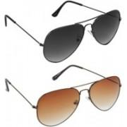 Whay Aviator Sunglasses(Multicolor)