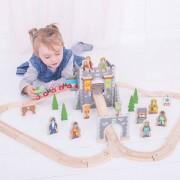 Set Cu Trenuletul Cavalerilor (46 Piese)