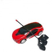 Remote Control rechargeable Famous car 3D Led light- Red