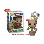 Groot Con Luces Navidad Funko Pop Marvel Holidays Christmas