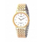 Relógio Lorus Redondo Dourado e Branco