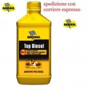 additivo auto top bardahl per motori diesel pulitore pulizia iniettori flacone da 1 litro lubrificanti auto