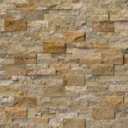 Placaj Travertin Scapitat Scabos Caramiziu 50x18.5x2 cm