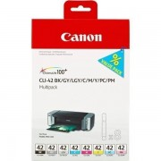 Canon CLI-42multi (6384B010) bk +c +m +y +gy +pc +pm +lgy