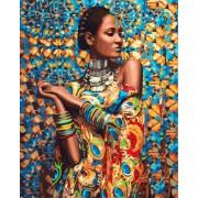 Gaira Malování podle čísel Africká dívka M991318