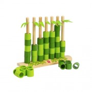 Hape International Hape Quattro Bamboo Toys - 897785 (Green/Brown)