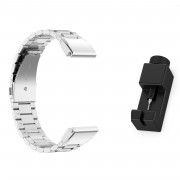 Stainless Steel Wrist Watch Band for Garmin Fenix5/5X/5S/Forerunner 945/Approach S60 - Silver