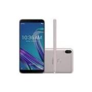 Smartphone Asus Zenfone Max Pro M1, 4g 64gb Octa Core Câmera Dupla 16mp+5mp Tela 6.0, Prata