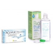 Acuvue Oasys (6 lentile) + Biotrue Multi-Purpose 360 ml cu suport
