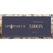 VIP-Parfüm ajándékutalvány 5,000 Ft értékben
