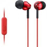 Слушалки Sony Headset MDR-EX110AP red - MDREX110APR.CE7