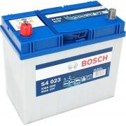 Bosch S4 12V 45Ah 330A Bal+ ázsiai autó akkumulátor