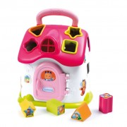 Smoby Cotoons Shape Sorter House Pink 110402