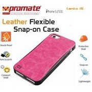Promate Lanko.i5 iPhone 5 Hand-Crafted Leather Case