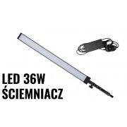 Lampa panelowa LED 36W 5500K ręczna z uchwytem ŚCIEMNIACZ
