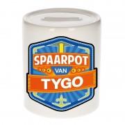 Bellatio Decorations Vrolijke kinder spaarpot voor Tygo