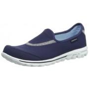 Skechers Performance Women s Go Walk Slip-On Walking Shoe Navy 5.5 B(M) US