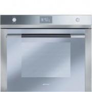 Smeg 70cm Linea Oven, Silver-mirrored Glass - SFA7125