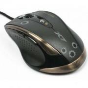 Оптична геймърска мишка F3-7бут, 600-3200dpi,16K памет - A4-MOUSE-F3