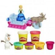 Set Play-Doh Frozen Aventuri pe sanie B1860 Hasbro