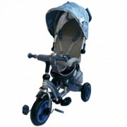 Tricicleta cu sezut reversibil Sunrise Turbo Trike Light Blue Baby Mix
