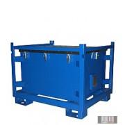 HUL-1253 500 literes festett veszélyes hulladéktároló (KS 500)