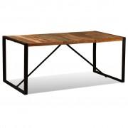 vidaXL Masă de bucătărie din lemn masiv reciclat, 180 cm