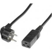 Roline naponski kabel IEC320 - C19 16A, crni, 3.0m
