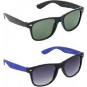 Redleaf Wayfarer Sunglasses(Green)