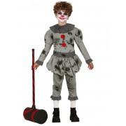 Vegaoo.es Disfraz payaso psicópata niño - 3-4 años (95-105 cm)