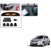 Auto Addict Car Black Reverse Parking Sensor With LED Display For Hyundai i20