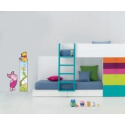 Sticker decorativ Metru Winnie - 70 x 153 cm