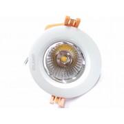 Silamp Spot Encastrable LED Rond COB 10W 80 - couleur eclairage : Blanc Froid 6000K - 8000K