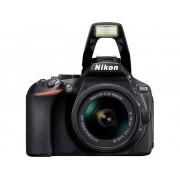 Nikon D5600 Kit Digitale spiegelreflexcamera Incl. AF-P 18-55 mm VR 24.2 Mpix Zwart WiFi, Full-HD video-opname