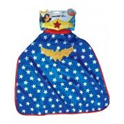 Vegaoo Wonder Woman Super Hero girls mantel och tiara One-Size
