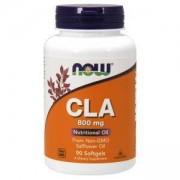 Свързана линолова киселина - CLA 800 мг. - 90 дражета - NOW FOODS, NF1727