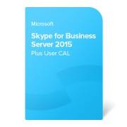 Skype for Business Server 2015 Plus User CAL електронен сертификат