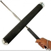 Mannat Folding Rod Iron Stick Padded Handle Girls/Boys Self Defence -4