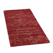 Henneptapijt, rood-gemêleerd 90 x 160 cm