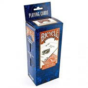 1 Brick of 12 Bicycle Standards Playing Cards 6 RED & 6 BLUE Standard Poker Deck